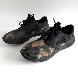 Sperry 7 Seas Camo Boat Shoes /Sneakers, Men's 8